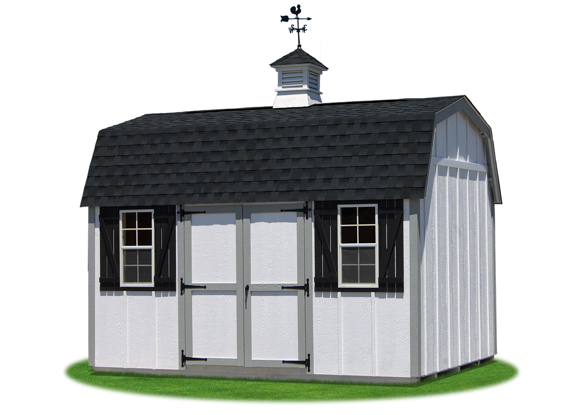 Gambrel barns pine creek structures for Cupola for shed