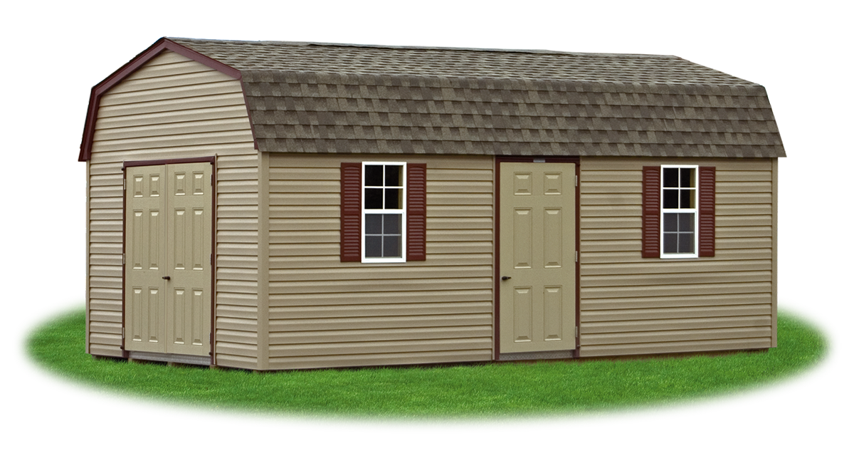 Shed styles pine creek structures for Gambrel style shed