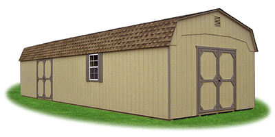 14x40 XL Gambrel Barn with LP Smart Side