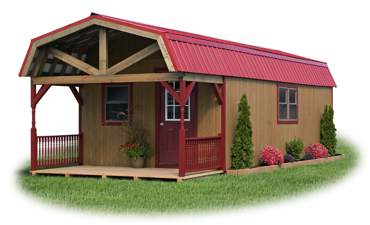 Shed styles pine creek structures Dutch gambrel barn