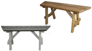 Pine Creek Structures Gazebo Options - Benches