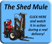 Shed Mule Actual Delivery