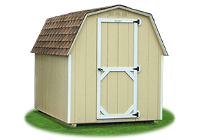 small economy madison mini barn with LP Smart Side