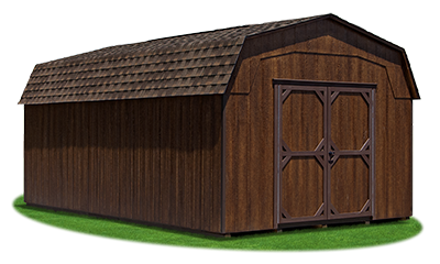 12x20 Heavy Duty Highwall Barn with LP Smart Side