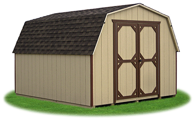 10 x 12 Heavy Duty LP Mini Barn