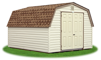 10 x 12 Heavy Duty Vinyl Mini Barn