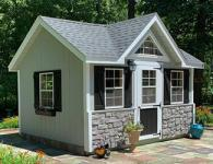 Customized Victorian Style Building From Pine Creek Structures
