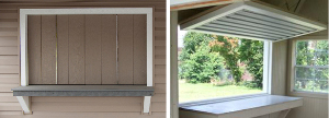 Pine Creek Structures concession window options