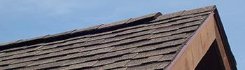 Pine Creek Structures venting options: shingle-over ridge vent