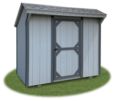 4x8 Mini Cottage Storage Shed