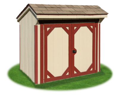 3x5 Garage Can Shed