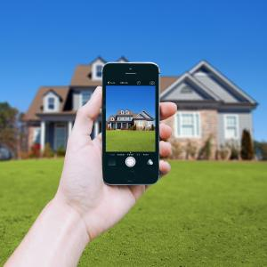 Snap a photo of your house with your cell before you leave. This will help you decide what color siding, trim, shutter, and roof to choose when you're at our store.