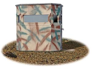 The Ambush Hunting Blind from the Wylde Series from Pine Creek Structures
