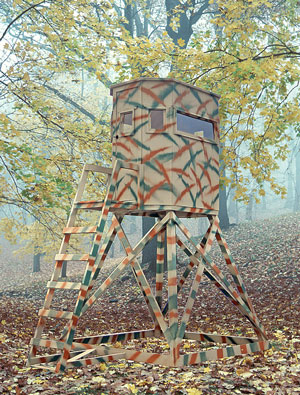 The Wylde Series Hunting Blind Pine Creek Structures