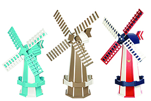 Pine Creek Structures Outdoor Decor - Poly Windmills