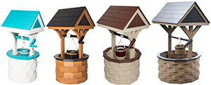Pine Creek Structures Outdoor Decor - Poly Wishing Wells