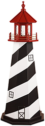 Pine Creek Structures Outdoor Decor - St Augustine, FL Lighthouse Design
