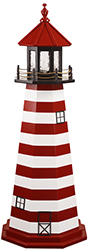 Pine Creek Structures Outdoor Decor - West Quoddy, ME Lighthouse Design