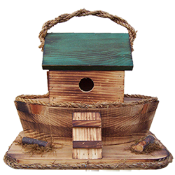 Pine Creek Structures Outdoor Decor - Ark Birdhouse