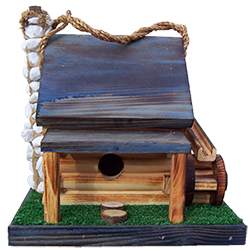 Pine Creek Structures Outdoor Decor - Mill Birdhouse