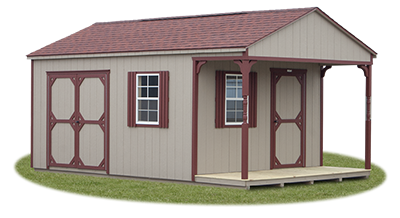 Custom Peak Shed available at Pine Creek Structures