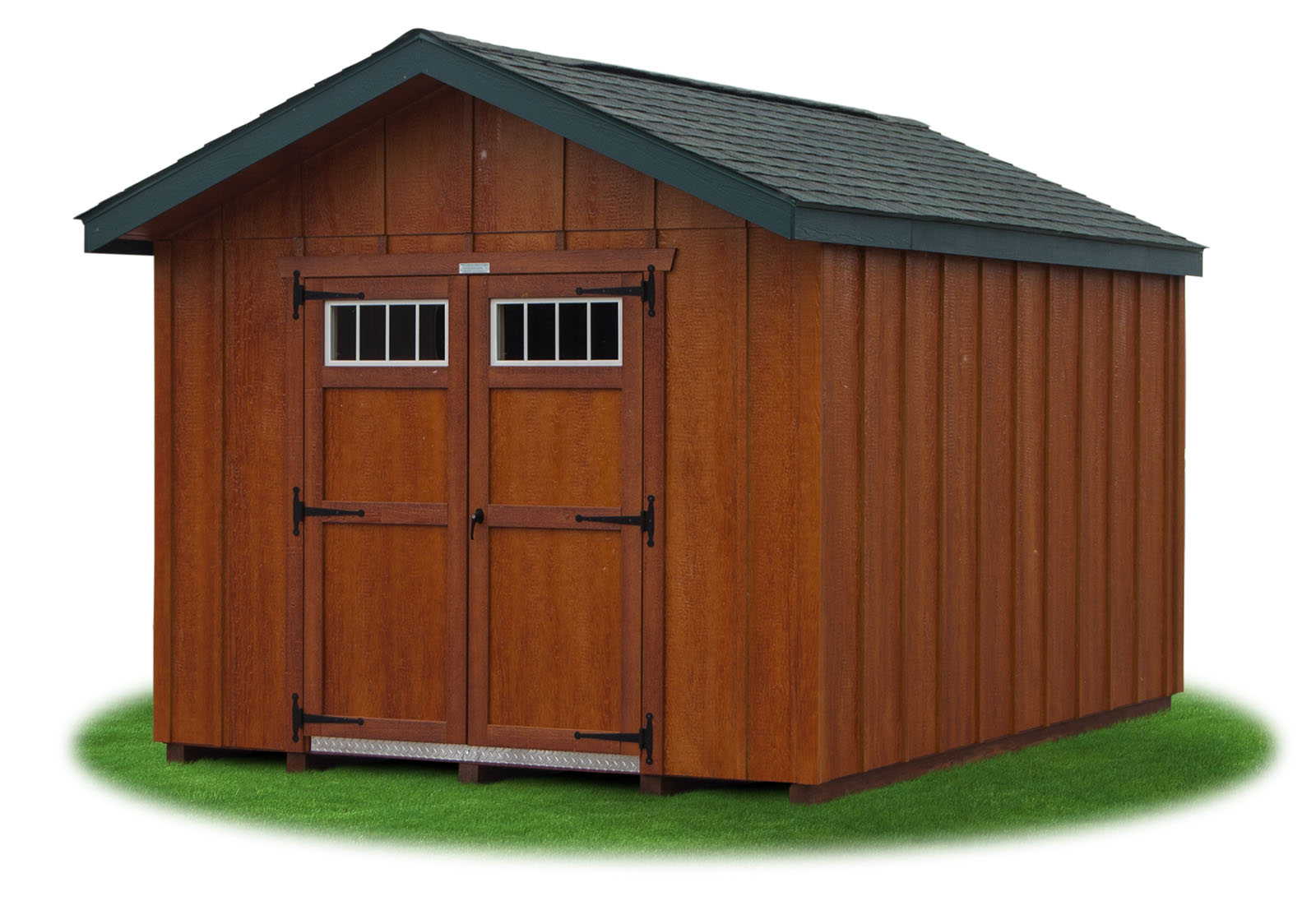 quality project garage excel sheds gallery siding cashmere img x trims with dark drift and driftwood shingles shed