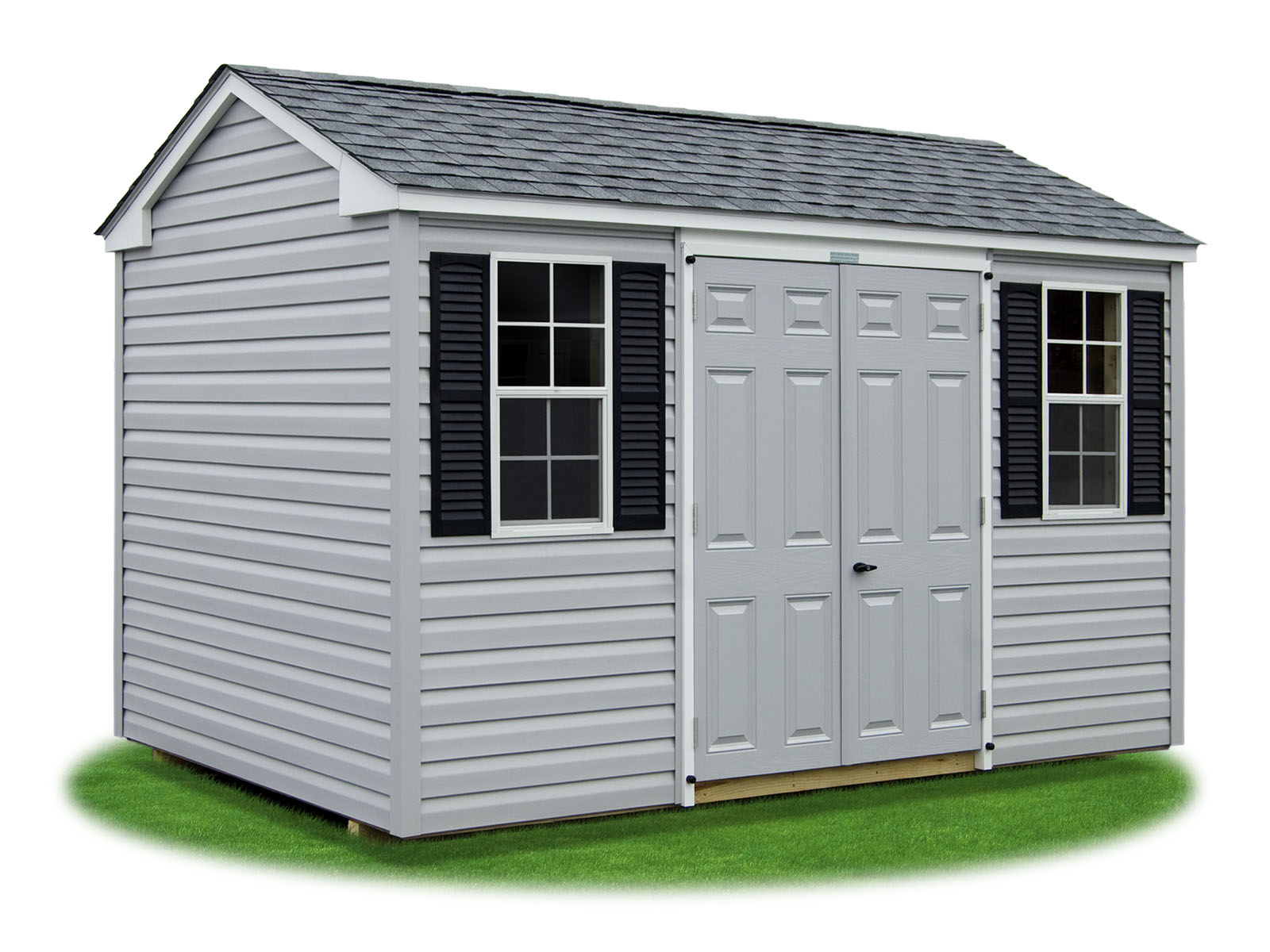Shed styles pine creek structures for Side storage shed