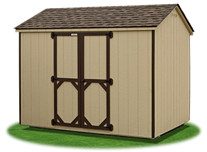 economy madison peak shed with LP Smart Side