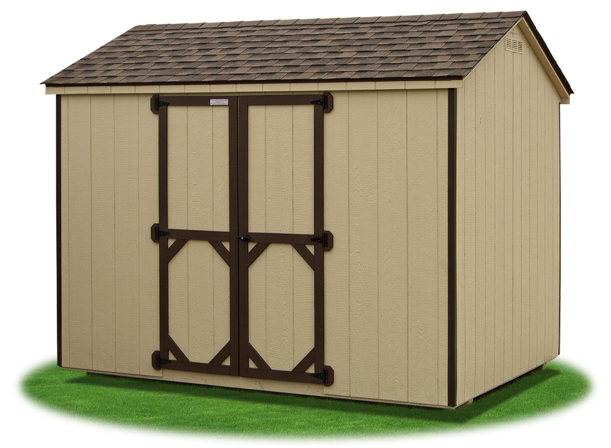 Peak (\'A\' Frame) Style Sheds | Pine Creek Structures
