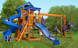 The Captain's Castle Wood Play Set