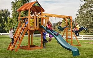 The Cubby's Fort Wood Play Set