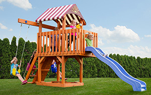 The Care Bear Castle Wood Play Set