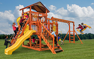 The Eclipse Wood Play Set