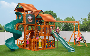 The Shooting Star Wood Play Set