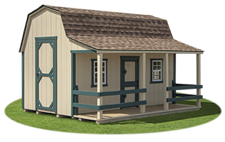 The Barn Playhouse from Pine Creek Structures