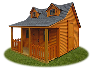 The Bear Playhouse from Pine Creek Structures