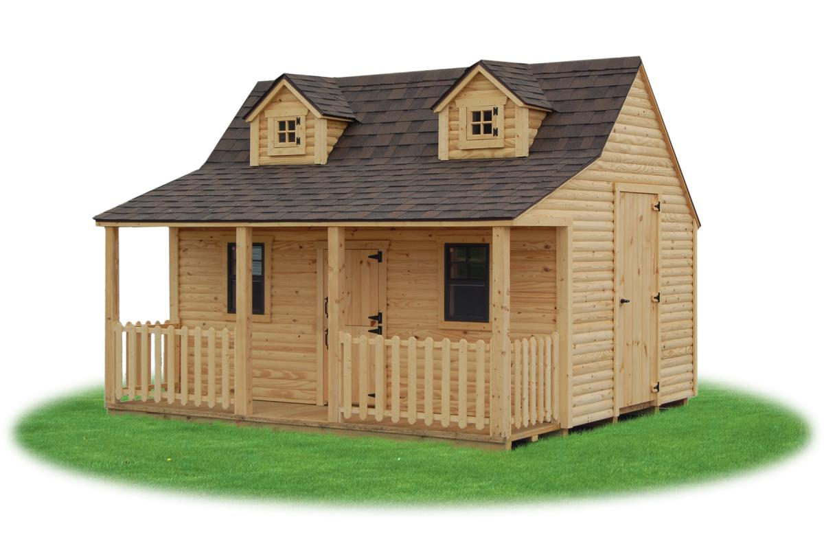 Garden Sheds 20 X 12 playhouses | pine creek structures