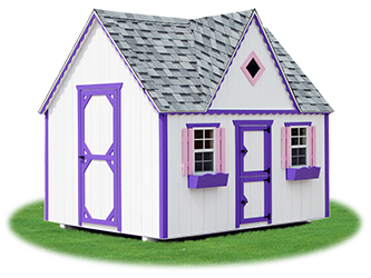 The Victorian Playhouse from Pine Creek Structures