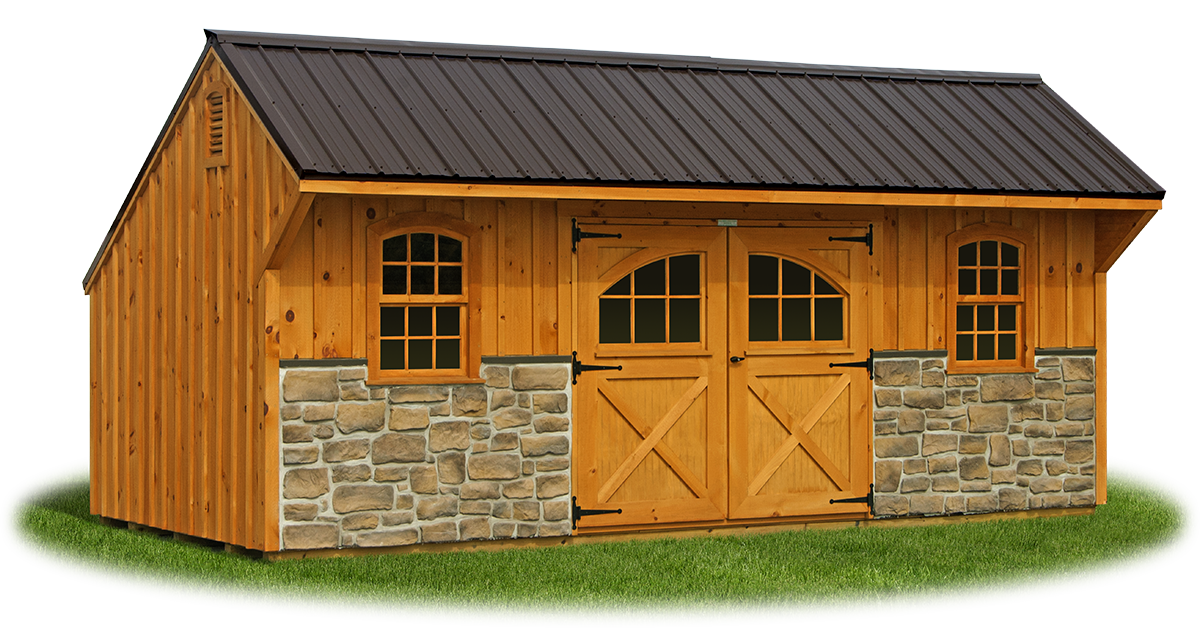 Providence Carriage Style | Pine Creek Structures