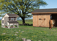 Other Products by Pine Creek Structures - animal shelters