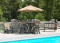 Other Products by Pine Creek Structures - outdoor patio furniture and decor