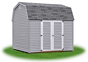 economy madison dutch barn storage shed with vinyl siding