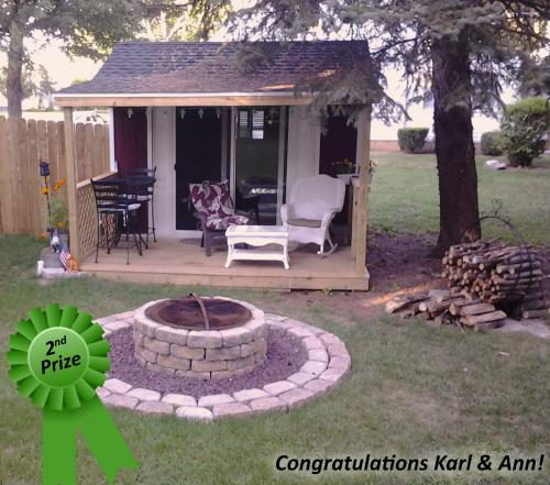 Pine Creek Structures Show Off Your Shed Photo Contest second prize winner