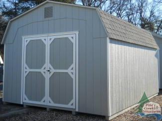 12X16 Wall Barn by Pine Creek Structures