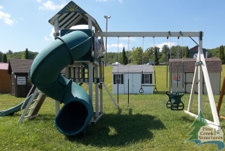Swingsets, playsets