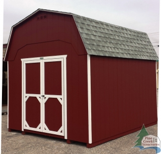 10ft x 12ft Wood Madison Dutch Barn Shed in Hanover, PA Pine Creek Structures