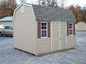 10x12 dutch with 5ft double door and 2 windows