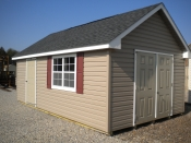12x20 Vinyl Cape Cod Storage Shed
