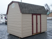 8x12 madison dutch barn with 5ft doors and 2 vents available at elizabethtown pi