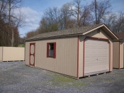 Pine creek12x24 peak garage,serving lancaster,dauphin,lebonan counties